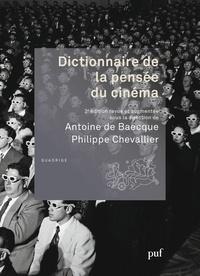 Dictionnaire de la pensée du cinéma - Antoine de Baecque |