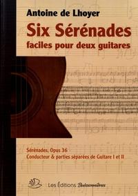 Galabria.be Six sérénades faciles pour deux guitares - Opus 36 Image