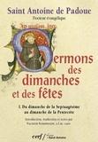Sermons des dimanches et des fêtes T01 - Du dimanche de la Septuagésime au dimanche de la Pentecôte.