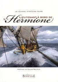 Deedr.fr Le Journal d'Antoine Faure Lieutenant à bord de l'Hermione Image
