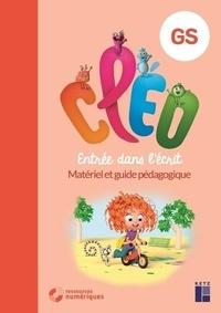 Antoine Fetet et E Siguier - Cléo GS - Entrée dans l'écrit - Matériel et guide pédagogique avec 160 pages cartonnées prédécoupées. 1 Cédérom