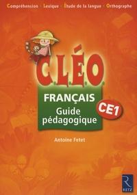Telecharger Francais Ce1 Cleo Guide Pedagogique Pdf Epub Mobi