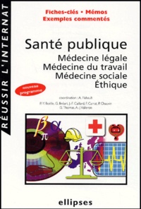 Antoine Flahault - Santé publique - Médecine légale, Médecine du travail, Médecine sociale, Ethique.
