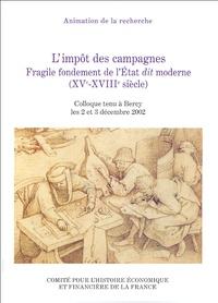 Accentsonline.fr L'impôt des campagnes - Fragile fondement de l'Etat dit moderne (XVe-XVIIIe siècle) Image
