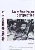Antoine Fraile - Cinéma documentaire - La mémoire en perspective.