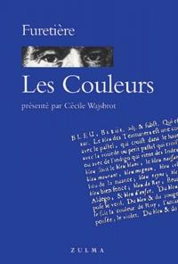 Antoine Furetière - Les Couleurs.