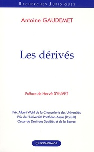 Antoine Gaudemet - Les dérivés.