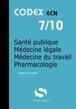 Antoine Gavoille - Santé publique - Médecine légale - Médecine du travail - Pharmacologie.