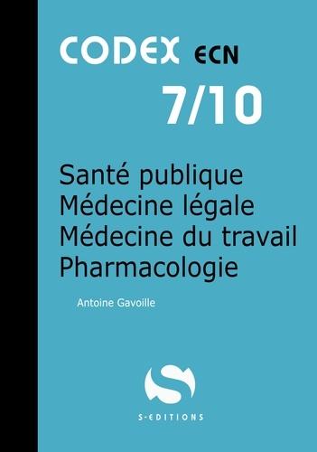 Sante Publique Medecine Legale Medecine Du Travail Pharmacologie Grand Format