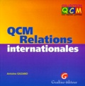 Antoine Gazano - QCM relations internationales.