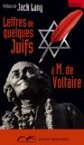 Antoine Guénée - Lettres de quelques juif à Monsieur De Voltaire.