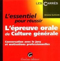 Lessentiel pour réussir lépreuve orale de culture générale - Conversation avec le jury et motivations professionnelles.pdf