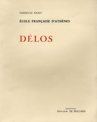 Antoine Hermary - Exploration archéologique de Délos - Tome 34, La sculpture archaïque et classique Tome 1, Catalogue des sculptures classiques de Délos.