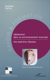 Corridashivernales.be Adolescent dans un environnement incertain - Une expérience libanaise Image