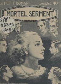 Antoine Laurent - Mortel serment.