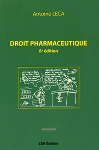 Antoine Leca - Droit pharmaceutique.