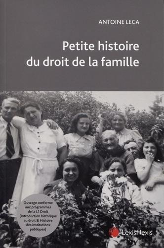 Petite histoire du droit de la famille