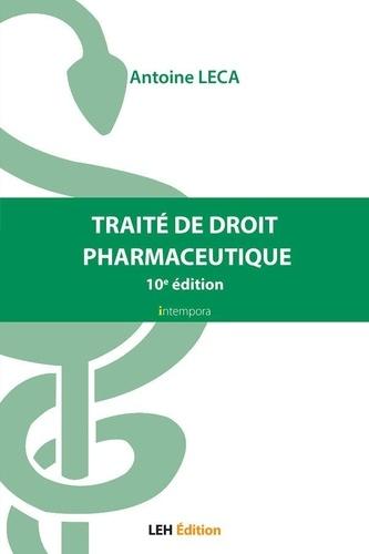 Antoine Leca - Traité de droit pharmaceutique.