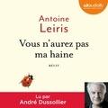 Antoine Leiris - Vous n'aurez pas ma haine.