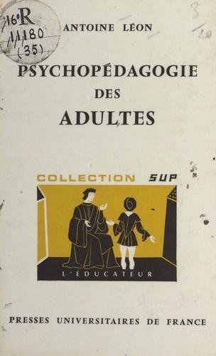 Psychopédagogie des adultes