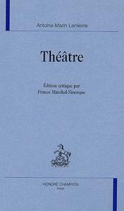 Antoine-Marin Lemierre - Théâtre.