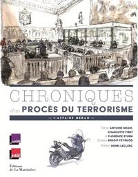 Chroniques d'un procès du terrorisme- L'affaire Merah - Antoine Mégie |
