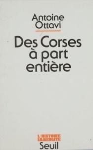 Antoine Ottavi - Des Corses à part entière.