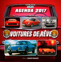 Antoine Pascal - Agenda 2017 voitures de rêve.