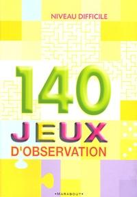 Antoine Pinchot - 140 jeux d'observation - Niveau difficile.