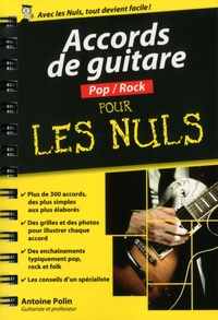 Antoine Polin - Accords de guitare pop-rock pour les nuls.