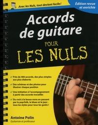 Antoine Polin - Accords de guitare pour les nuls.