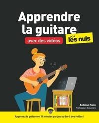 Antoine Polin - Apprendre la guitare en vidéos pour les nuls.