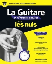 Téléchargement gratuit de livres audio anglais mp3 La guitare en 15 minutes par jour pour les nuls  en francais