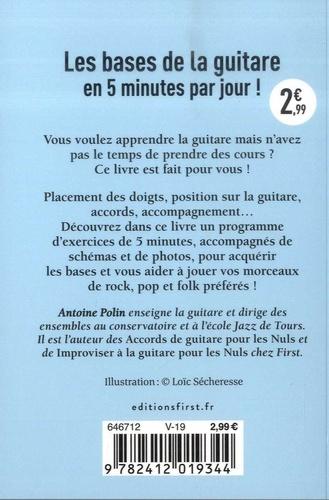 Le petit livre de la guitare en 5 minutes par jour