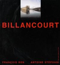 Antoine Stéphani et François Bon - Billancourt.