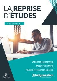 Antoine Teillet - La reprise d'études.