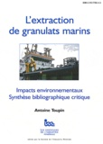 Antoine Toupin - L'extraction des granulats marins.