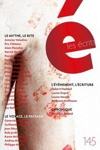 Antoine Volodine et Eric Clémens - Les écrits. No. 145. Novembre 2015.