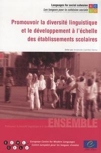 Antoinette Camilleri Grima - Promouvoir la diversité linguistique et le développement à l'échelle des établissements scolaires. 1 Cédérom
