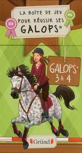 Antoinette Delylle et Fanny Ruelle - La boîte de jeux pour réussir ses galops - Galops 3 & 4.