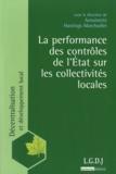 Antoinette Hastings-Marchadier - La performance des contrôle de l'Etat sur les collectivité locales.