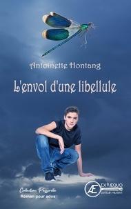 Antoinette Hontang - L'envol d'une libellule.