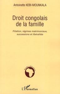 Droit congolais de la famille - Filiation, régimes matrimoniaux, successions et libéralités.pdf