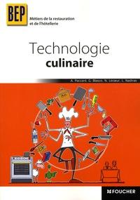 Antoinette Paccard et Gala Blasco - Technologie culinaire BEP Métiers de la restauration et de l'hôtellerie.