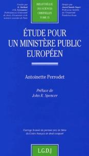 Antoinette Perrodet - .