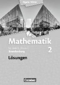 Mathematik 02. Lösungen zum Schülerbuch. Sekundarstufe II. Brandenburg - Anton Bigalke | Showmesound.org