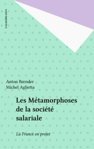 Anton Brender et Michel Aglietta - Les Métamorphoses de la société salariale - La France en projet.