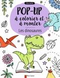 Anton Poitier et Elizabeth Golding - Les dinosaures - Pop-up à colorier et à monter.