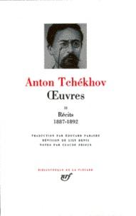 Anton Tchekhov - Oeuvres - Tome 2, Les récits de Tchékhov de 1887 à 1892.