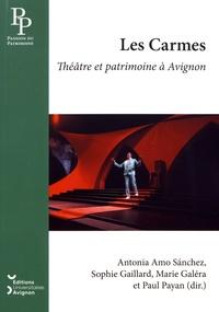 Antonia Amo Sanchez et Sophie Gaillard - Les Carmes - Théâtre et patrimoine à Avignon.